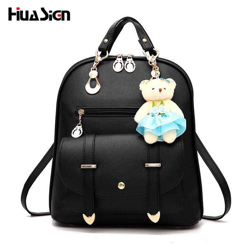 Huasign New Arrival Fashion Women Backpack New Spring and Summer Students Backpack Women Korean style Backpack High Quality 2209 wholesale 2017 new spring and summer man casual backpack wave packet multi function oxford backpack