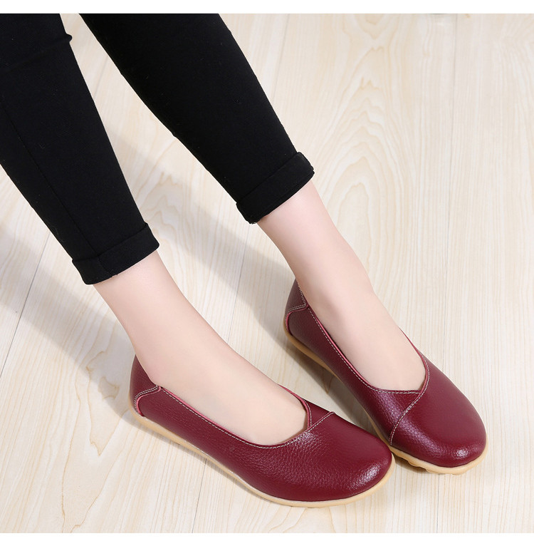 AH 5928-2019 Spring Autumn Woman Flats Casual Women Loafers-7