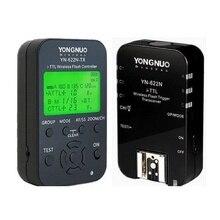 Yongnuo 1 x YN-622N-TX + 1 x YN-622N RX Комплект-TTL ЖК-Беспроводной вспышка Триггера Установить для НК D800S D800 D800E D600 D610 D7100 D7200