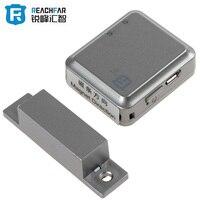 RF-V13 Quadri-Bande GSM GPRS LBS Tracker Locator et Smart Alarme de porte Soutien Ouvert/Fermer La Porte de Surveillance D'alarme Vocale fonction