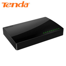 Tenda SG108 Community Eight Port Gigabit Desktop Swap 10/100/1000Mbps Quick Ethernet Switcher Lan Hub Full/Half duplex Alternate