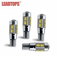 1X Car Styling Car Auto LED T10 194 W 5W Canbus 10 SMD 5730 LED Light