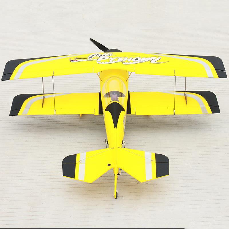 цена на Dynam 1130MM Pitts Model 12 RC PNP Propeller Plane W/ Motor Servos W/O Battery