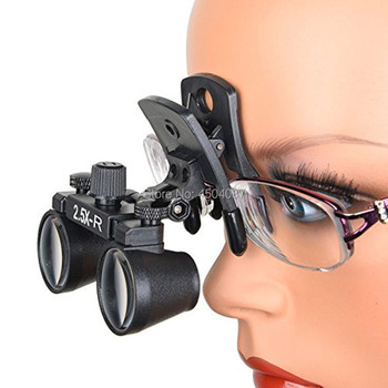 High Quality Clip Medical Loupes 2.5X Binocular Magnifier Medical Dental Surgical Loupes
