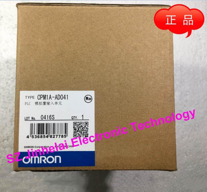 New and original CPM1A-AD041 OMRON PLC Analog input unit dhl ems 1pc used original for omron cj1w ad041 v1