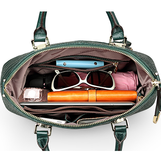 100% Genuine Leather Handbag 3