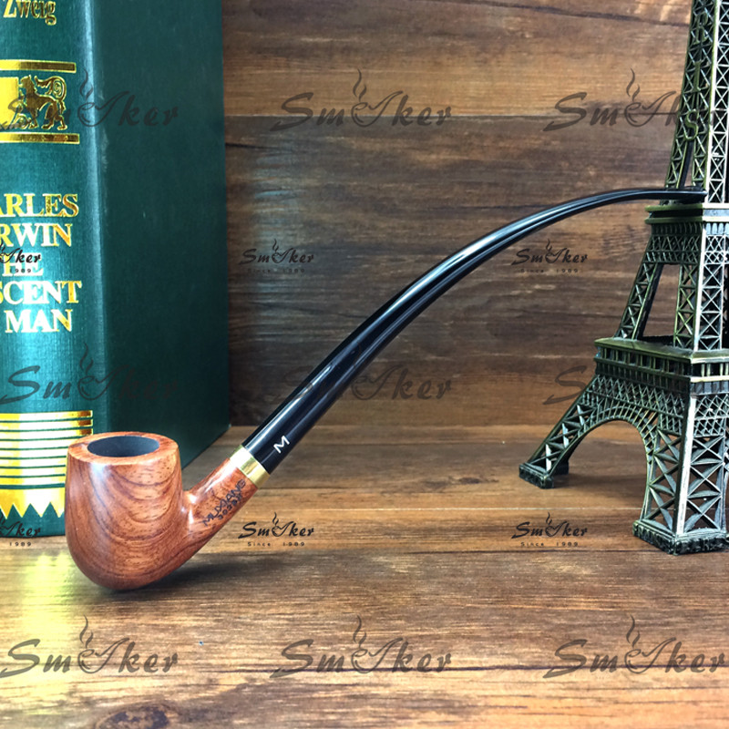 New Rosewood 23 cm Smoking Pipe Wooden Ws