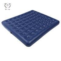 Wnnideo 2 человек темно синие стекаются надувной матрас двойной сотовая структура открытый кровать для пара Портативный 1.8 м zh5 230