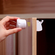Magnetic Child Safety Lock Drawer Lock Cabinet Door Lock Stealth Protection  Lock Built In Install