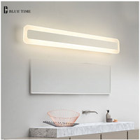 60cm 80cm 100cm 120cm Modern Wall Light Makeup Dressing Room Bathroom Led Mirror Light Fixture Home