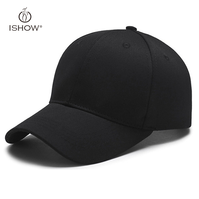 Fashion Simple Concise Brief all-match Terse Light Black baseball cap  neutral personality modern casual cap hat sombrero 8fcac6c27