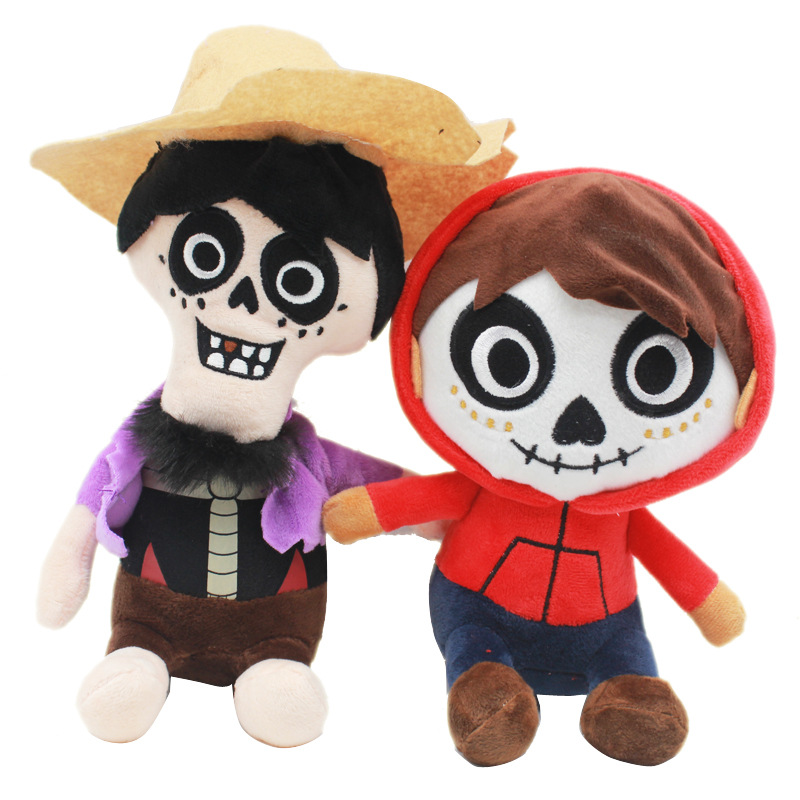 20cm Movie COCO Pixar Character Plush Toys Doll COCO Miguel Hector Plush Soft Stuffed Toys for Children Kids Toy Gifts image
