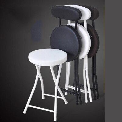 Chaise pliante portable tabouret pliant maison tabouret salle à manger chaise simple ordinateur chaise de bureau