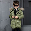 2016 Children winter jackets Down Coats Kids Parkas Boys Winter Clothes Sets Thickening Outer Jacket Down Jacket Kids Jackets