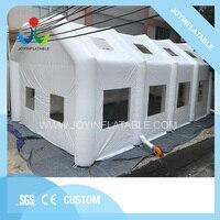 Гигантский кемпинг надувная прозрачная палатка для вечерние, белый коммерческий открытый большой надувной газон событие палатки для прода
