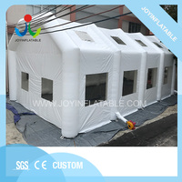 Giant camping inflatable clear tent for party , white commercial outdoor large inflatable lawn event tents for sale