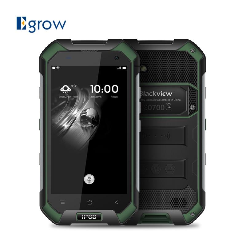 bilder für Blackview bv6000 4,7 ''hd screen android 6.0 smartphone mtk6755 octa-core 3g ram 32g rom wasserdicht staubdicht handy 13mp