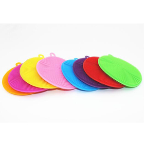 Image 4 - 1PCS Multifunctional Kitchen Wash Cleaning Brushes Brushes Silicone Dishes Bowl Cleaning Brushes Dish Kitchen Pots Cleaner Tools