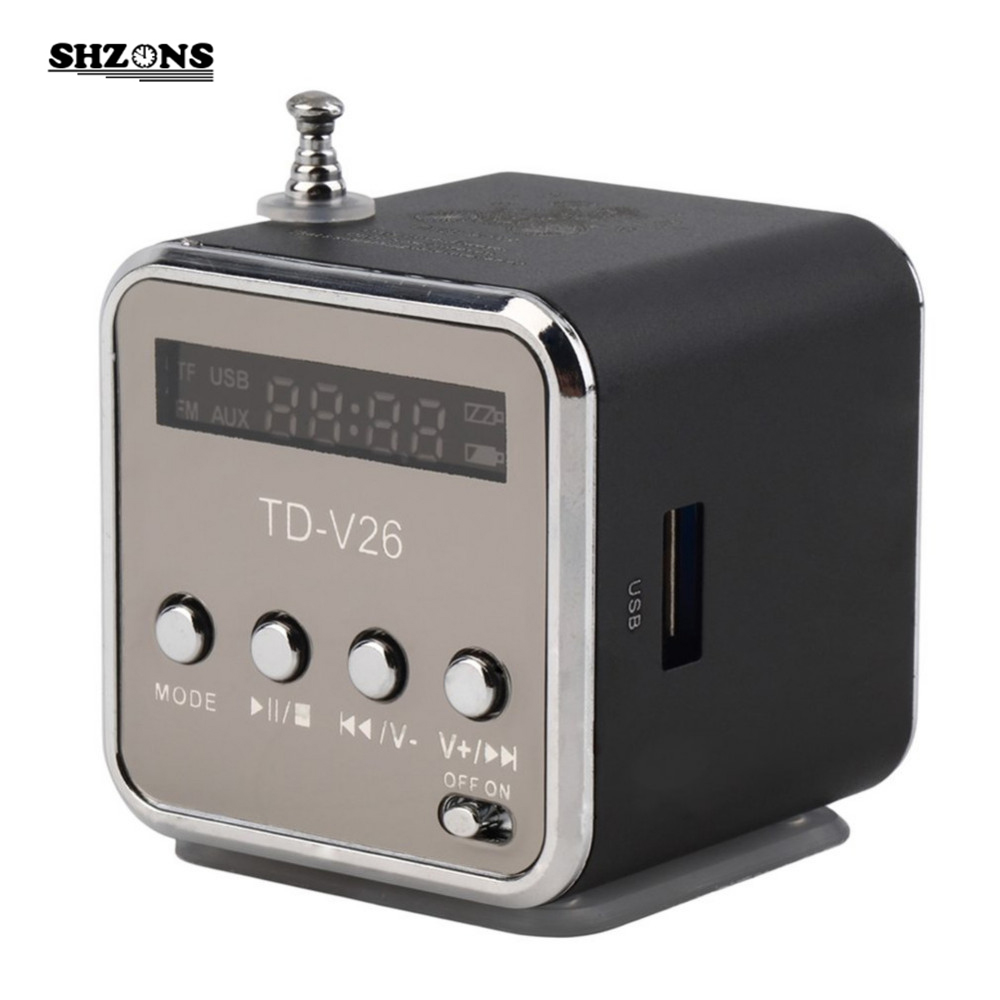 Portable Speaker Mini SD TF Card Micro USB 2.0 Stereo Super Bass Sound Amplifier for Speakers for your Phone LED Display