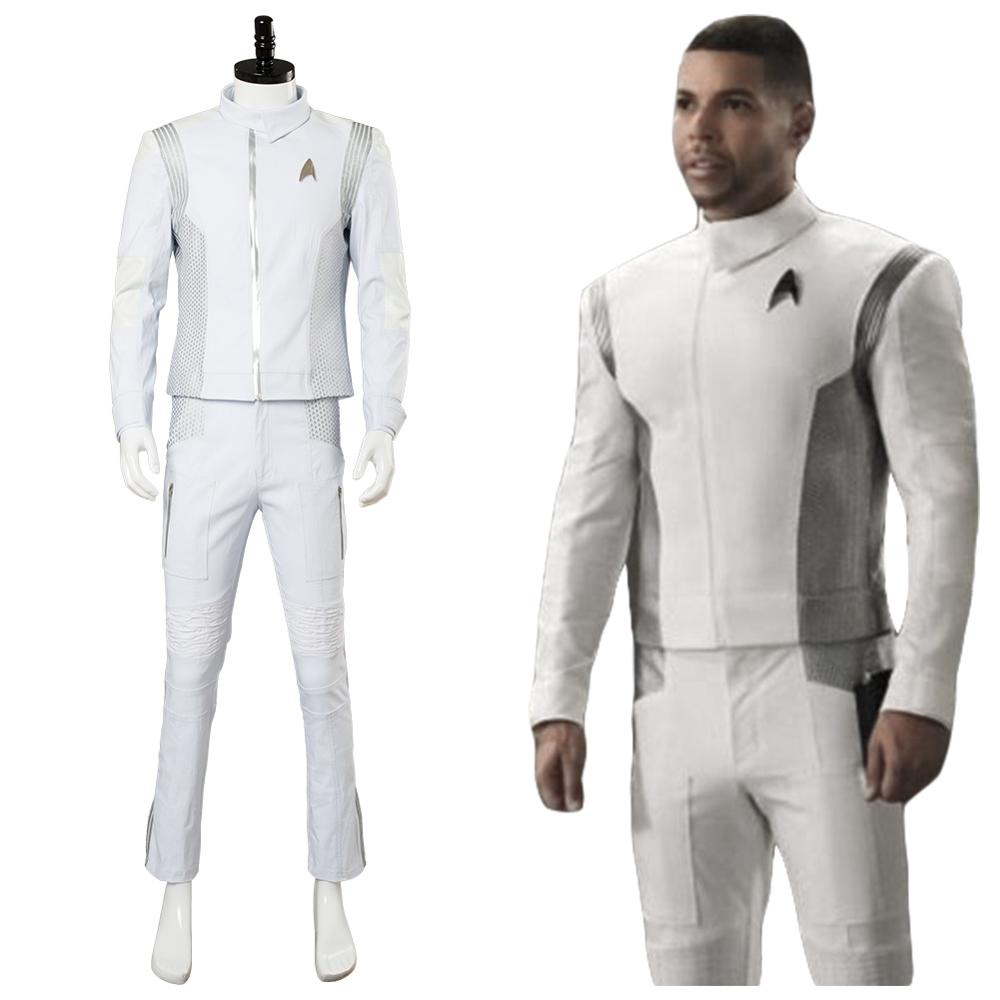 Hot Star Trek Discovery Operations Division Officer Uniform Cosplay Consume Suit