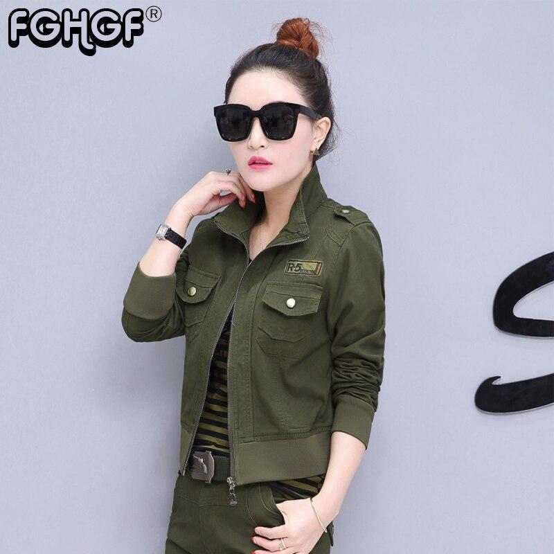 Hot Sale Fghgf Brand Jacket Women Coat Mandarin Collar England Style