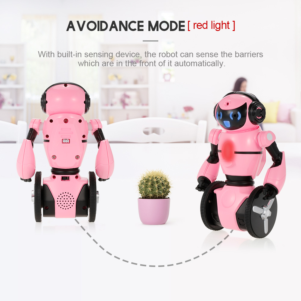 Wltoys RC Robot F4 0.3MP Camera Wifi FPV APP Control Intelligent G-sensor Smart Robot Super Carrier RC Toy Gift for Children (1)
