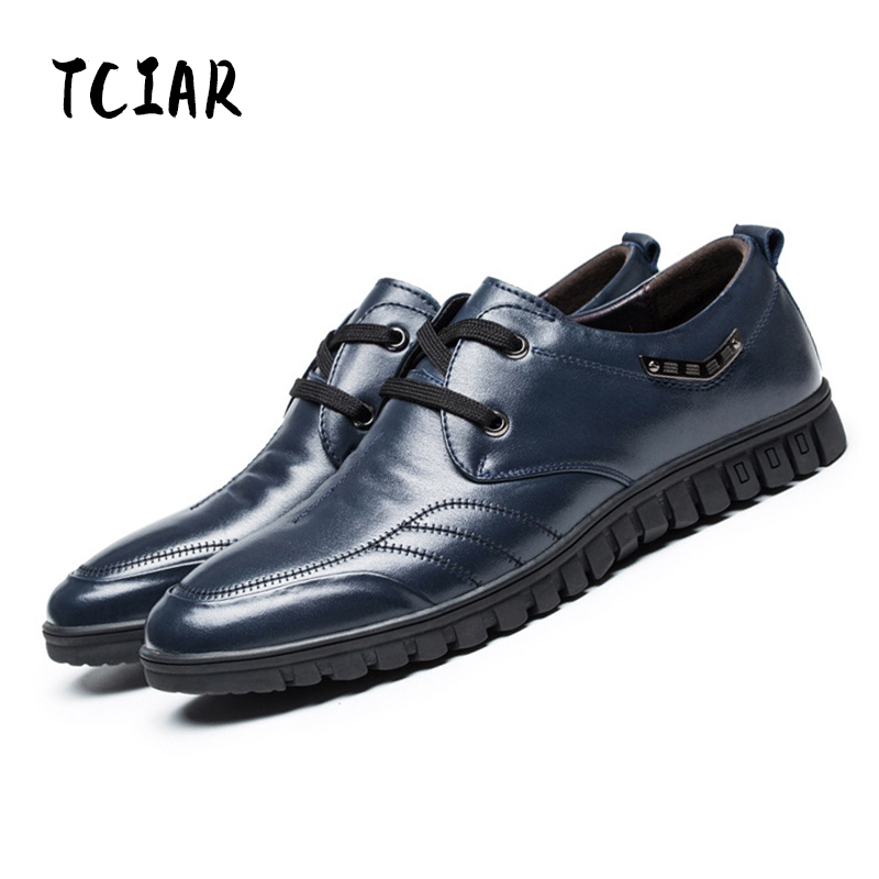 TCIAR 2017 New Arrival Mens Genuine Leather Shoes Fashion Summer Casual Shoes Man's Lace-up Italian Designer Brand Shoes DS3380 zapatos hombre sapato masculino couro new fashion high quality brand lace up genuine leather mens casual shoes multi color blue