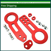 New Universal Billet Aluminum Racing Front Rear Tow Hook Kit