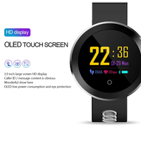 Q8Pro Bluetooth Smart Watch Heart Rate Blood Pressure Fitness Bracelet HD Screen Touch Control for Android IPhone Samsung Huawei