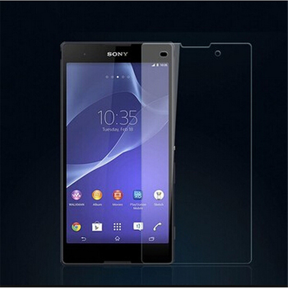 10pcs/lot 2.5D 0.26mm 9H Premium Tempered Glass For <font><b>Sony</b></font> <font><b>Xperia</b></font> <font><b>E3</b></font> <font><b>D2202</b></font> D2203 D2206 Dual D2212 Screen Protector !! image