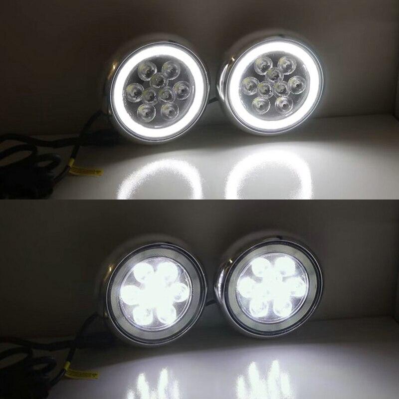 Super bright Daylight guide design LED Daytime Running fog lights/ Rally light for All Mini cars For Mini cooper R55 R56 R57