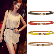 2019 Korean luxury fashion fish jewelry candy color adjustable lacquer belt ladi