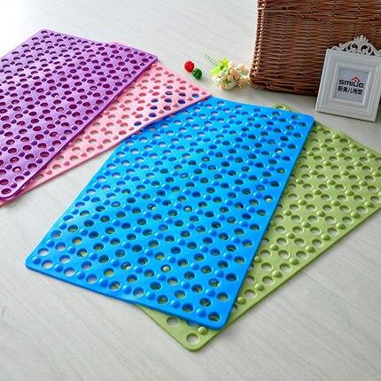 30x20cm Nonslip Carpet Shower Floor Plastic Massage Bathroom Bath ...
