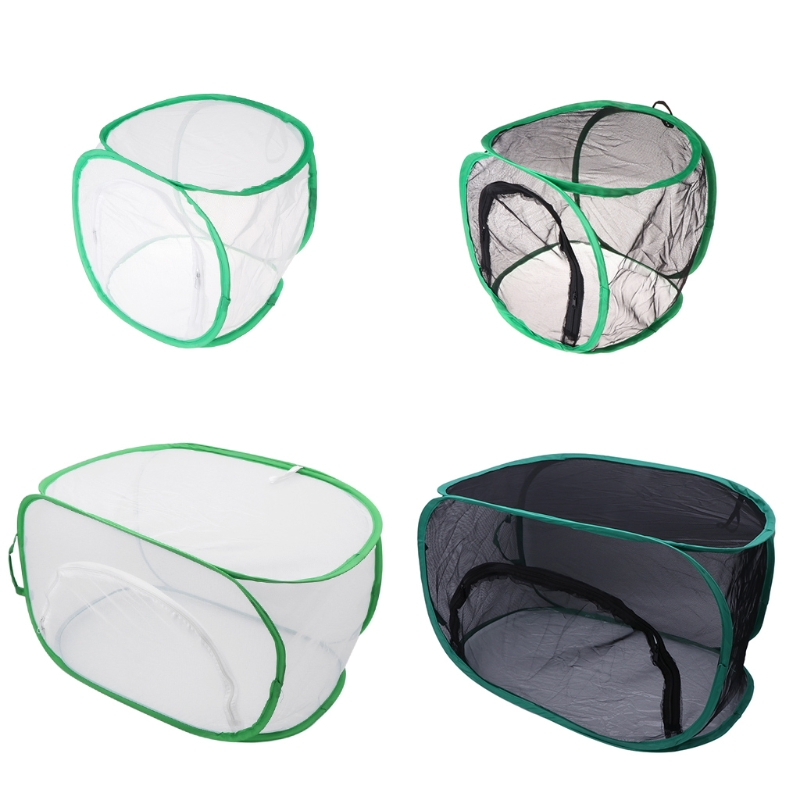 Folding Cage Net Anti Insect Portable Catcher Trap Breeding Plant Mantis Mantle Fly Trap