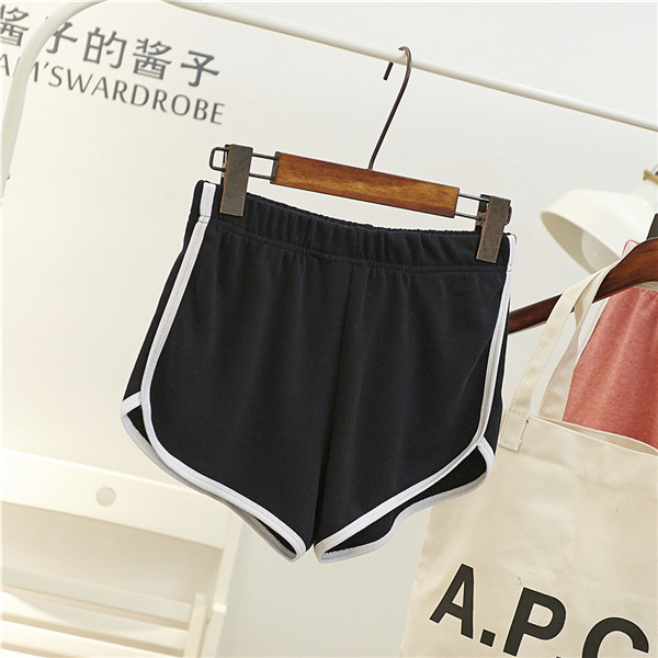 Fashion Stretch Waist Casual Shorts Woman High Waist Black White Shorts Beach Sexy Short Women'S Clothing 22