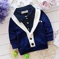 Детская Одежда Новая Коллекция Весна Осень Мальчики С Длинными рукавами Рубашки Марка Kids Fashion Верхней Одежды