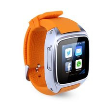Top Deals X01 4GB Smart Watch Phone Android 4. 4 OS Dual Core 2G GSM 3G WCDMA 2100MHz Sports Pedometer Heart Rate Monitor GPS