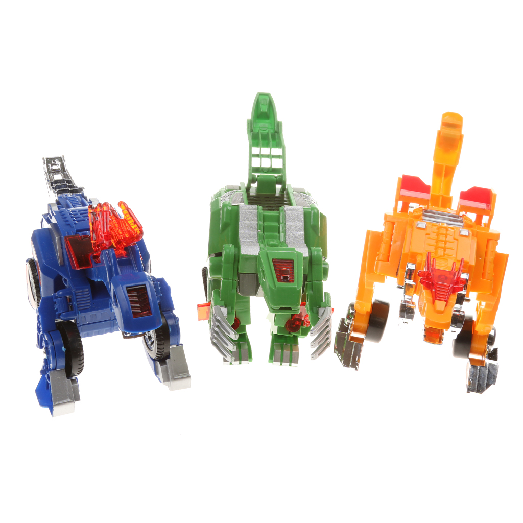 Fun Adjustable Transformation Deformation Dinosaur Car Character Toy Stimulate Childrens Imagination Kid Educational Fun Toy