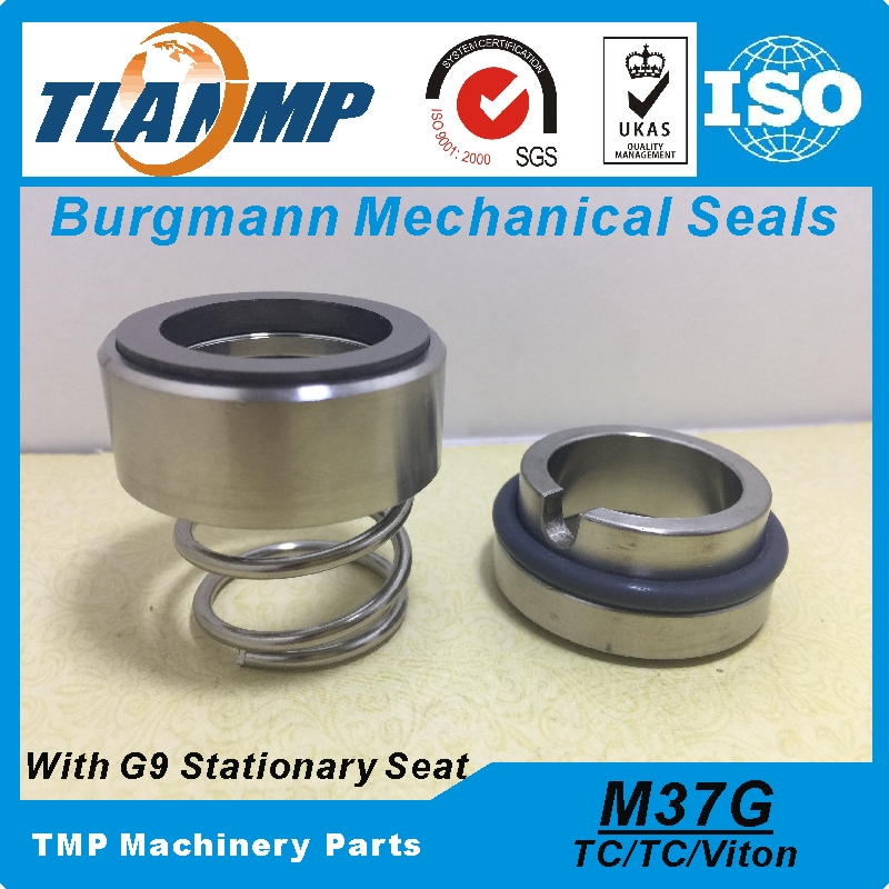 M37G 45 M37G 45 G9 Burgmann Mechanical Seals Material TC TC Viton Used for Shaft Size