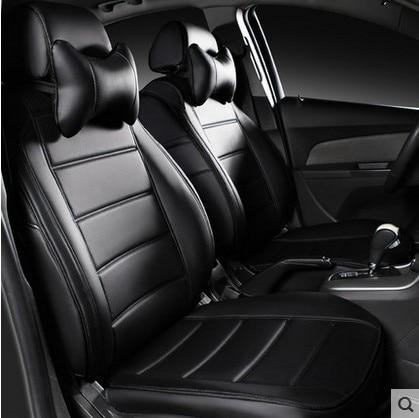 Leather Customize Car Seats Covers Auto Cushion Set For Skoda