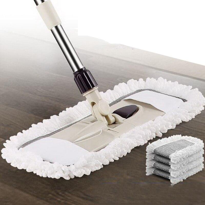 341209/Ménage plat vadrouille/360 degrés peut être tourné/durable/Facile à nettoyer/Élargir la panneau/Évolutive réglable
