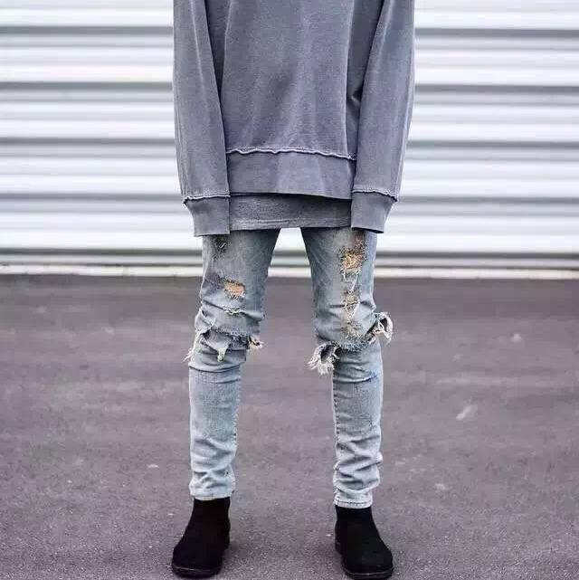Online Get Cheap Skinny Distressed Jeans -Aliexpress.com | Alibaba