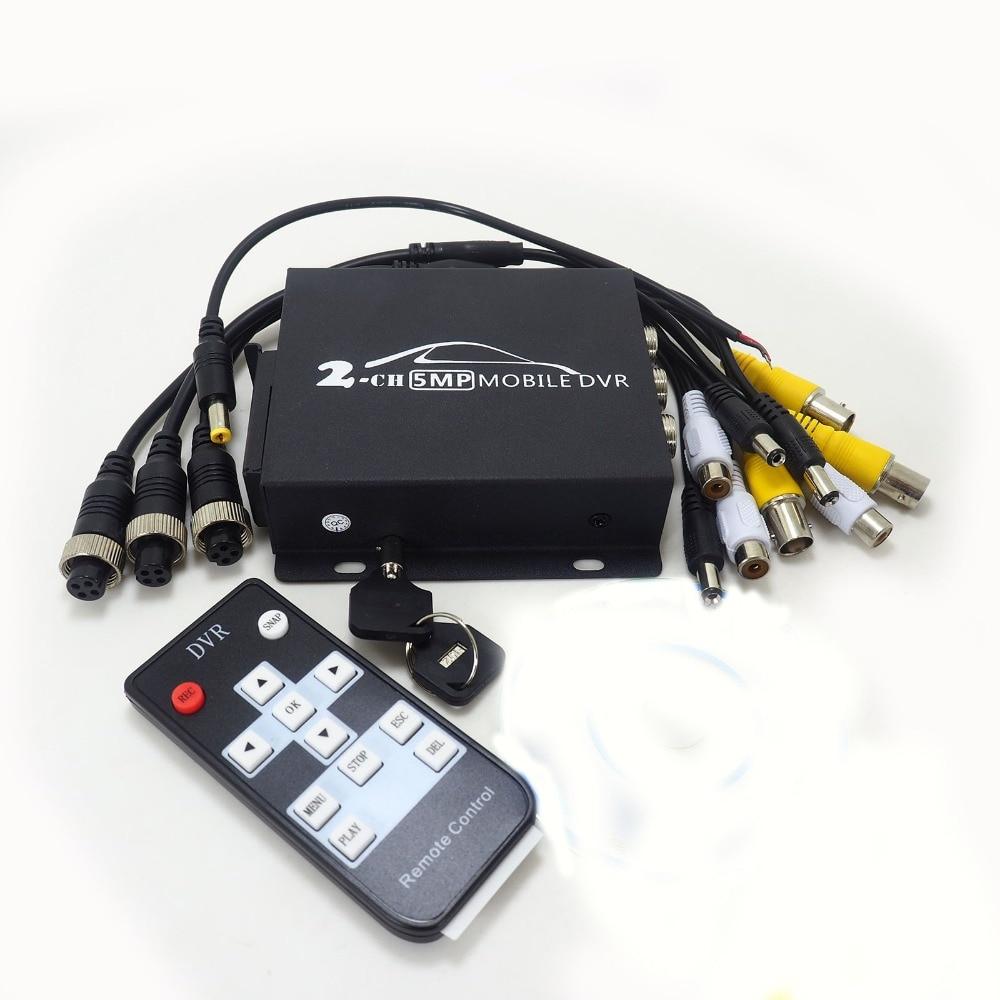 AHD DVR 2 Channel CCTV AHD DVR POMIACAM DVR 1080P Video Recorder For 5MP AHD Camera