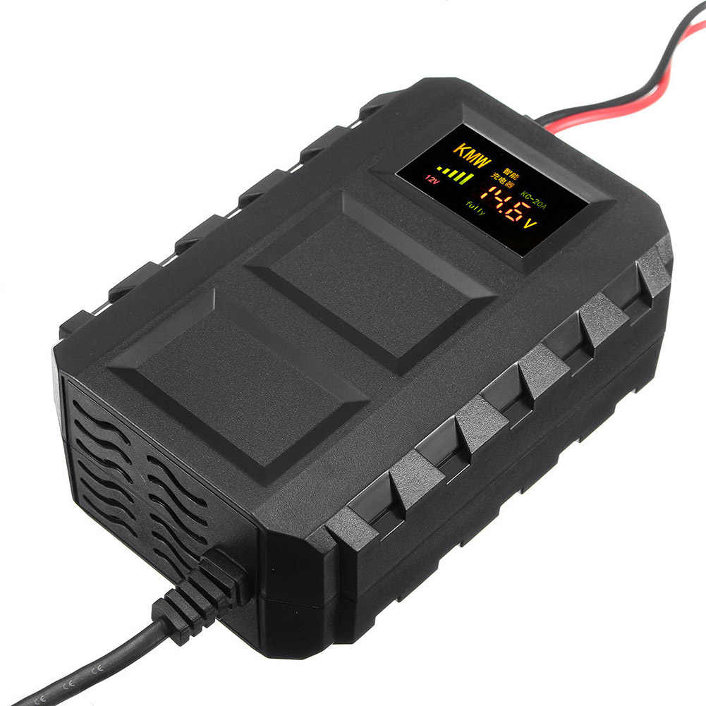 Smart Battery New Hot Selling Intelligent 12v 20a Automobile Batteries Lead Acid Smart Battery Charger For Car Motorcycle Dxy88