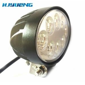 Image 2 - 5.5 inch 12 V 24 V 24 W off road Flood Ovale LED Verlichting Lamp voor auto Vrachtwagen Voertuig rijden Boot Led Overstroming Licht