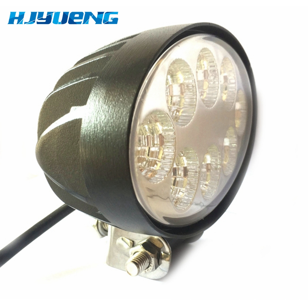 Image 2 - 5.5 inch 12V 24V 24W off road Flood Oval LED Work Light Lamp for car Truck Vehicle Driving Boat Led Flood Light-in Light Bar/Work Light from Automobiles & Motorcycles