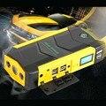 69800 мАч Автомобиль Прыгать-Стартер, Большой Расход воды Diesel Power Bank для Автомобиля Автомобиль Booster Начать Перемычка Батареи Желтый