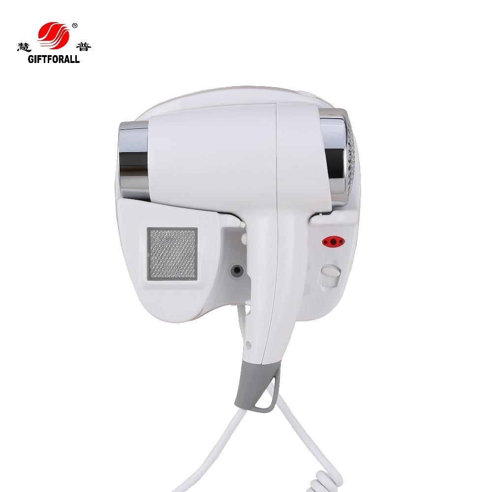 GIFTFORALL Best Hotel Hair Dryer Hot/Cold Air Professional Hair Salon Equipment 100-240V Hair Dryer Secador De Cabelo 67493B