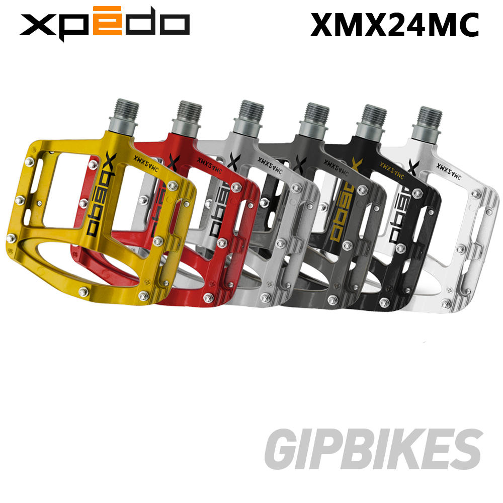 Wellgo XPEDO bicycle pedals SPRY XMX24MC ultralight Magnesium MTB mountain bike pedals 255g 6 Colors XMX24MC