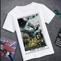 Бесплатная доставка плюс размер жира европейская версия 4xl 5xl 6xl 7xl 8xl лайкра хлопка о-образным вырезом с коротким рукавом мужская Повседневная футболки бренда